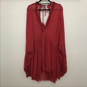 Free people get yer gauze tunic/dress